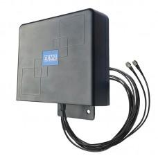 Антенна BAS-2346 Flat mini MiMo с кабелем 5м (SMA)