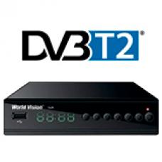 Цифровые эфирные приставки (DVB-T2)