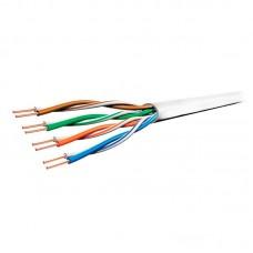"""Компьютерный LAN кабель UTP 4*2 CAT 5e """"витая пара"""" медь"""