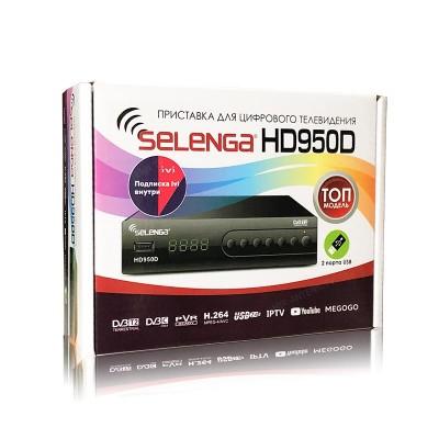 Цифровая приставка Selenga HD 950D