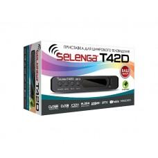 Цифровая приставка Selenga Т42D