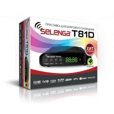 Цифровая приставка Selenga T81D