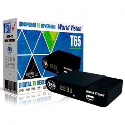 Цифровая эфирная приставка World Vision T65
