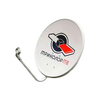 Антенна спутниковая Супрал СТВ-0.55 с лого Триколор